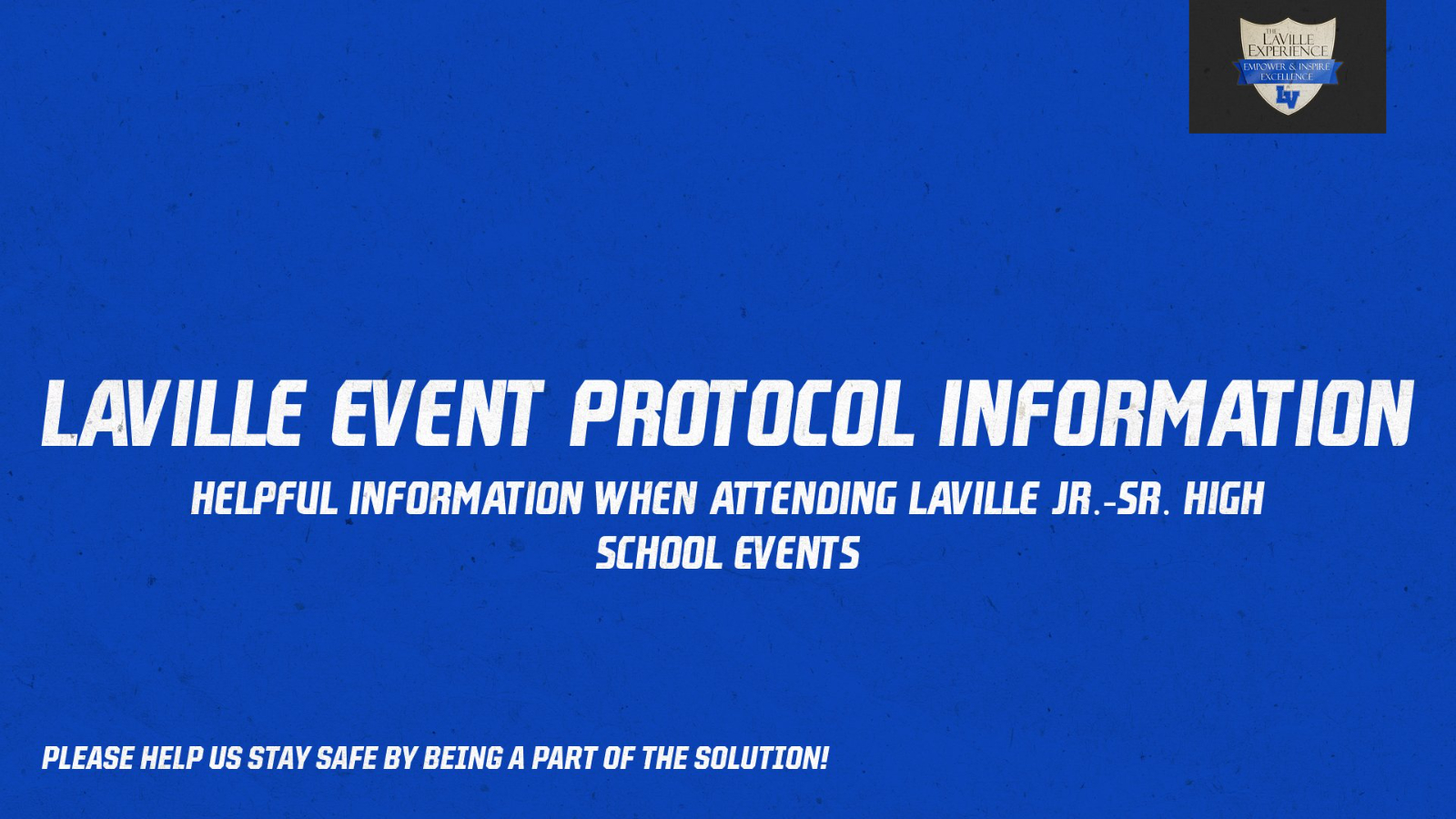 LaVille Event Protocol Event Information