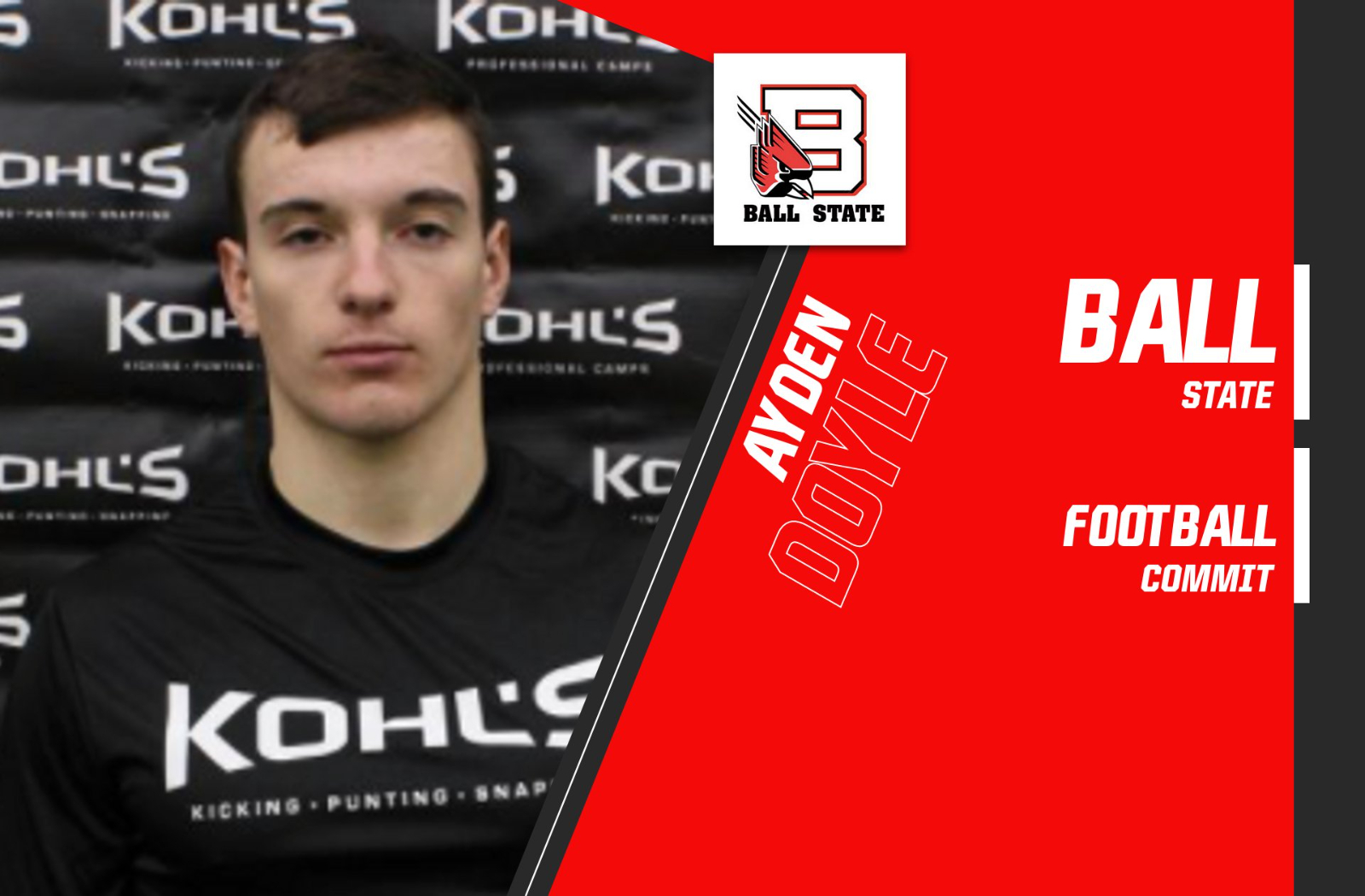 Ball State Offers Doyle PWO As Long Snapper