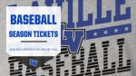 Baseball Season Tickets On Sale Now
