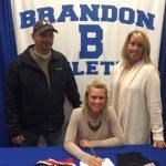 Brandon Senior Cheerleader Morgan Raby signs with Concordia University!