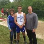 Nolan Tews Oakland County Track & Field Long Jump Champion
