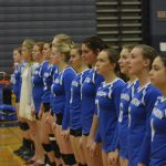 Varsity Volleyball District win vs Oxford 2017-10-30 Photo Gallery