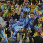 Pom Pon Guys and Girls Halftime and Snowcoming Court 2018-02-02 Photo Gallery