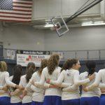 Girls Varsity Basketball MHSAA District game vs Clarkston 2018-02-28 Photo Gallery