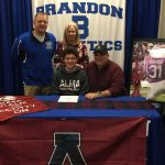 Josh Manfroni Signs with Alma College to Play Football