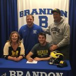 Bryce Chamberlain Plans to Play Football at University of Michigan