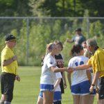 Girls Varsity Soccer MHSAA District game vs Fenton 2018-05-29 Photo Gallery
