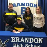 Mathew Harrison Signs with University of Michigan to Play Football