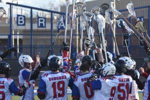 Boys Lacrosse vs Goodrich Lake Fenton team 2019-04-09 photo gallery