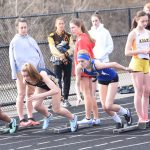 Girls Varsity Track hosting Tri-County Invitational 2019-04-12 Photo Gallery