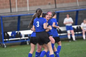 Girls Varsity Soccer 2-0 win over Kearsley 2019-04-22 Photo Gallery