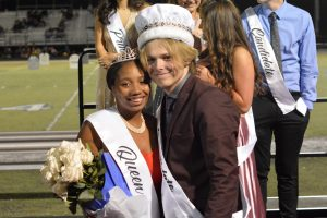 Homecoming Court, Cheer, Band and Color Guard 2019-10-04 Photo Gallery