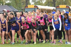 Girls Varsity and Middle School Cross Country Greater Flint Championships 2019-10-05 Photo Gallery