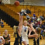 Girls Varsity Basketball 46-36 win over Owosso 2019-12-20 Photo Gallery