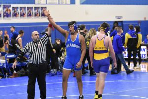 Varsity Wrestling 40-31 win over Kearsley and 28-46 vs Goodrich 2020-01-22 Photo Gallery
