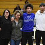 Boys Varsity Basketball Senior Night 45-35 win over SW Flint 2020-03-03 Photo Gallery