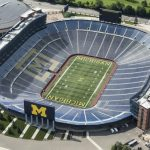 Shores Football To Open at Michigan Stadium