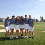 Mona Shores High School Girls Varsity Golf finishes 2nd place