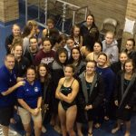 Mona Shores High School Girls Varsity Swimming finishes 1st place
