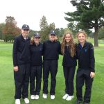 Mona Shores High School Girls Varsity Golf finishes 5th place