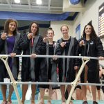 Mona Shores High School Girls Varsity Swimming finishes 2nd place