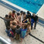 Boys Varsity Swimming falls to Thornapple-Kellogg 137 – 52