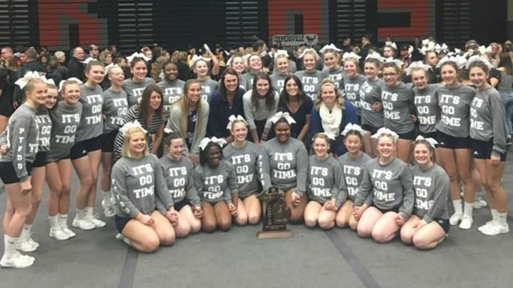 Cheerleading Claims District, Regional Titles