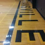 New Gym Floor Nears Completion