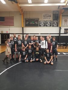Wrestling Wins District Title Back to Back!