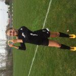 Dansville High School Girls Varsity Soccer beat Portland High School 9-1