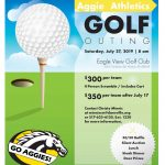 Aggie Athletics Golf Outing Scheduled for July 27