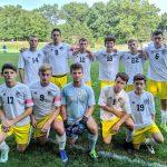 Boys Varsity Soccer beats Bath 8 – 1