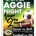 1 Night…2 Big Games!, Fri., Oct. 11