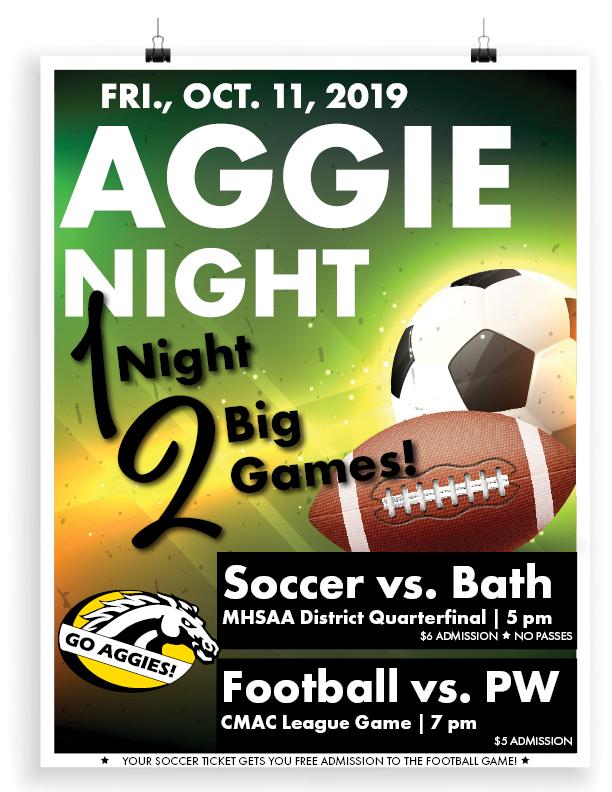 1 Night…2 Big Games!, Fri., Oct. 11