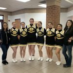 Girls Varsity Competitive Cheer finishes 6th place at CCCAM Invitational 2020 @ Leslie HS, 4141 Hull Rd., Leslie