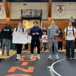 Dansville Varsity Wrestling places 11th at Quincy
