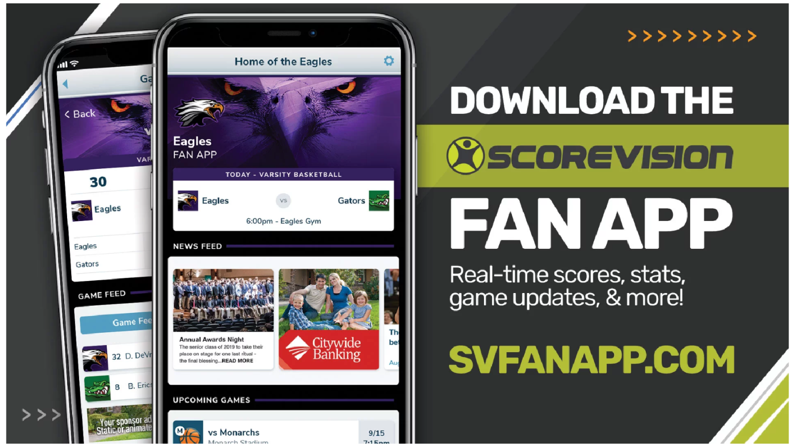 Download the ScoreVision Fan App Today