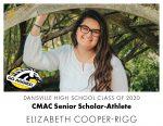Aggie CMAC Senior Scholar-Athlete: Elizabeth Cooper-Rigg
