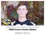 Aggie CMAC Senior Scholar-Athlete: Jaden Dietz