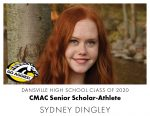 Aggie CMAC Senior Scholar-Athlete: Sydney Dingley