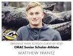 Aggie CMAC Senior Scholar-Athlete: Matthew Frantz