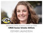 Aggie CMAC Senior Scholar-Athlete: Esther Launstein