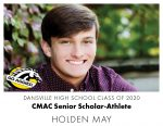 Aggie CMAC Senior Scholar-Athlete: Holden May