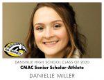 Aggie CMAC Senior Scholar-Athlete: Danielle Miller
