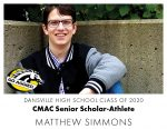 Aggie CMAC Senior Scholar-Athlete: Matthew Simmons