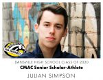 Aggie CMAC Senior Scholar-Athlete: Julian Simpson