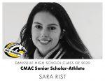 Aggie CMAC Senior Scholar-Athlete: Sara Rist