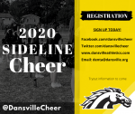 2020 Sideline Cheer Registration