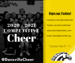 Competitive Cheer Registration