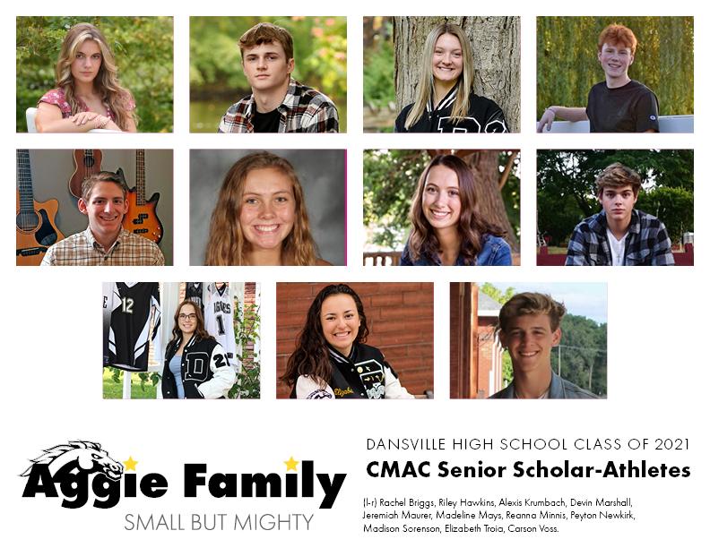 Aggie CMAC Senior Scholar-Athletes